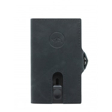 Silky Black Rhino Wallet