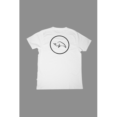Rhino T-shirt - white